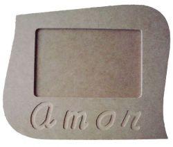 Porta Retrato Amor - Medida: 22cmX18cmX9mm -Para Fotos de 15cmX10cm