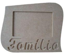 Porta Retrato Família - Medida: 22cmX18cmX9mm -Para Fotos de 15cmX10cm