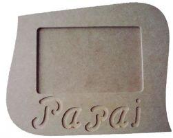 Porta Retrato Papai - Medida: 22cmX18cmX9mm -Para Fotos de 15cmX10cm