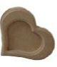Moldura Coração PP - Medida: 13cmX15cmX15mm