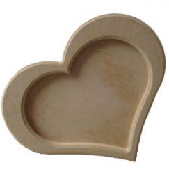 Moldura Coração Grande - Medida: 35,5cmX41,5cmX15mm