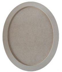 Moldura Oval Grande - Medida: 39cmX31,9cmX15mm