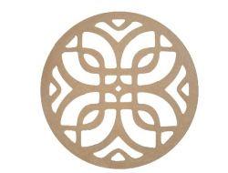 Mandala Nó Celta  Medida: 40,2cmX40,2cmX6mm