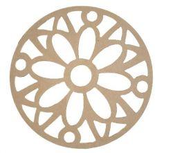 Mandala Pétalas  Medida: 40,2cmX40,2cmX6mm