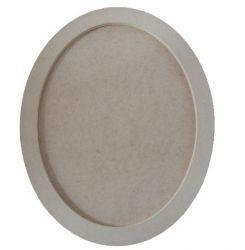 Moldura  Oval Média - Medida: 32,8cmX25cmX15mm