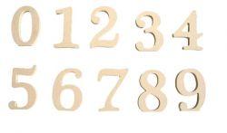 Números ( A Escolher)  - Medidas: 13cmX15mm