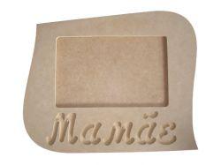 Porta Retrato Mamãe - Medida: 22cmX18cmX9mm -Para Fotos de 15cmX10cm