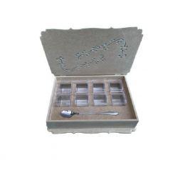 Caixa Para Gin G - Em Mdf Cru - Medidas: 33cmx23cmx6,5cm.